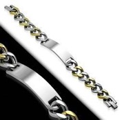 "Steel Bracelet ""Greek"" 316L"