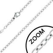"Chains in stainless steel 3mm ""70cm"""