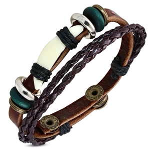 leather bracelet men bracelet