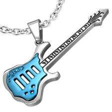 """Blue Guitar"" Stainless steel (316L)"