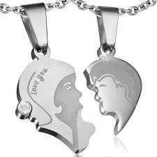 Jewelries for couples in Stainless steel