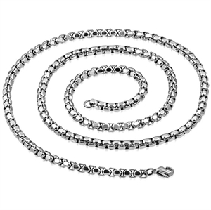 necklace men stainless steel