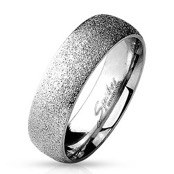 Matt Bruch Stainless steel ring.