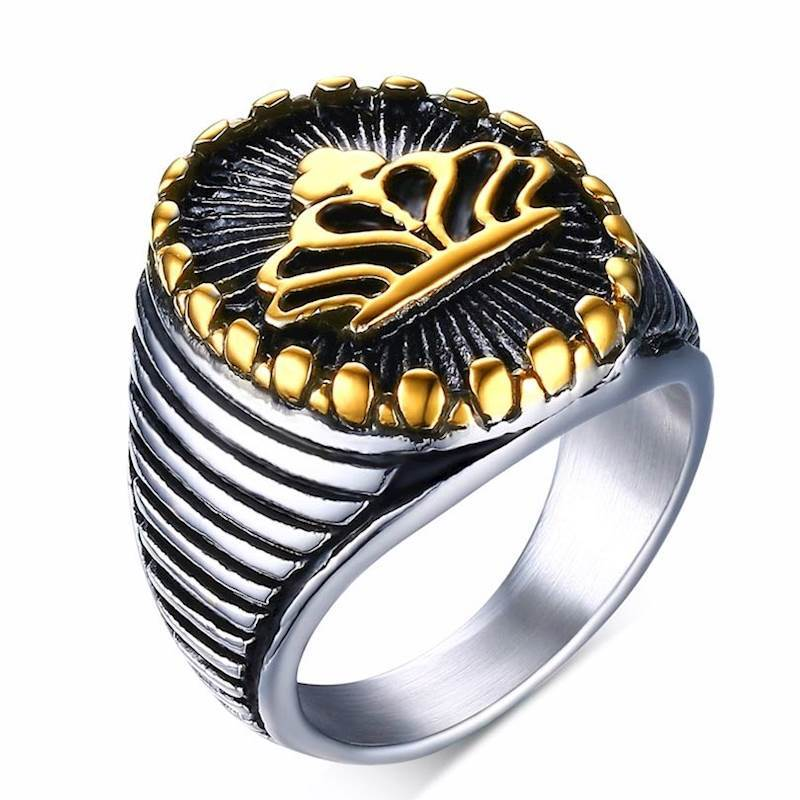 mens ring steel