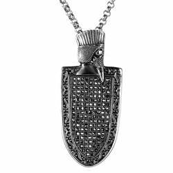 Necklace for men in the Gothic style