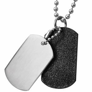 soldier tags black