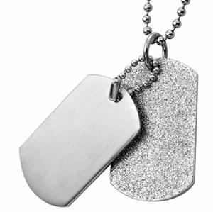 soldier tags steel