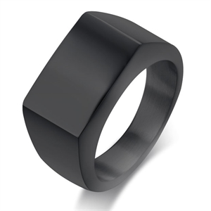 Blackcoatet mens ring M5