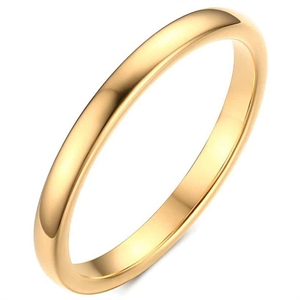 Thin tungsten ring