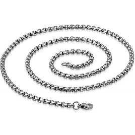 Steel Chain 3mm - 55 - 80 cm