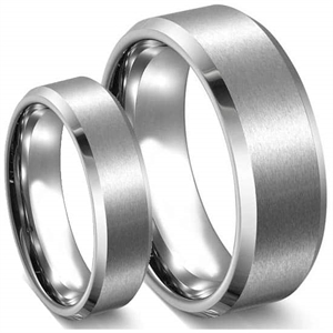 """Steel"" Stainless steel 316L ring"