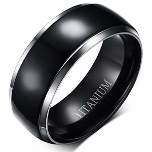 "Black Titanium men's ring ""Titan"""