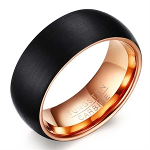 F1 Tungsten mens ring