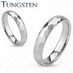 Tungsten ring in 4mm